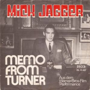 Cover - Mick Jagger: Memo From Turner