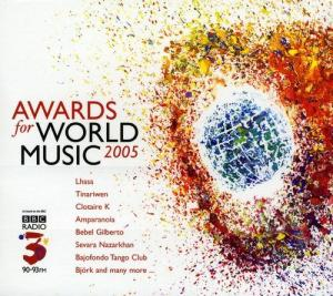 Awards For World Music 2005 - Cover