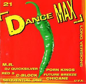 Dance Max 21 - Cover
