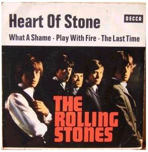 The Rolling Stones: Heart Of Stone - Cover