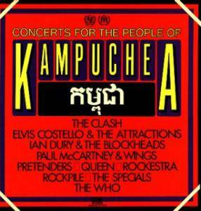 Concerts For The People Of Kampuchea - Cover
