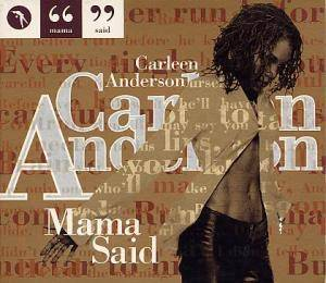 Cover - Carleen Anderson: Mama Said