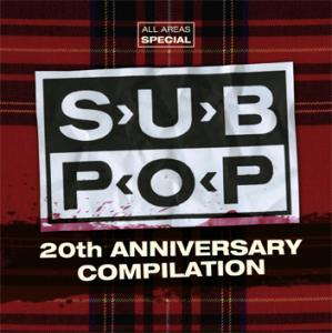 Visions All Areas - Volume 095 - Special - Sub Pop 20th Anniversary Compilation - Cover