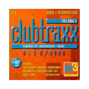 Cover - Starfighter: HR 3 Clubtraxx Vol 3 / 0138/6000