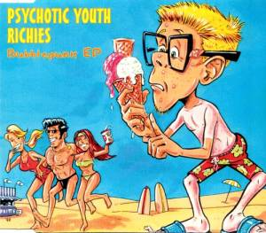 Cover - Psychotic Youth: Bubblepunk EP