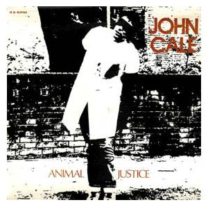 John Cale: Animal Justice - Cover