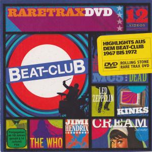 Rolling Stone: Rare Trax DVD - Highlights Aus Dem Beat-Club 1967 bis 1972 - Cover