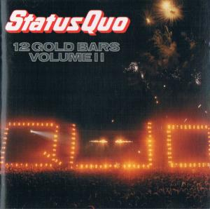 Status Quo: 12 Gold Bars Volume II - Cover