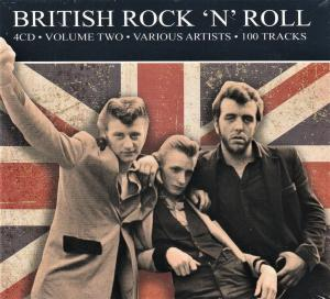 British Rock 'n' Roll - Volume Two - Cover