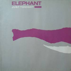 Cover - Elephant: Just Tonight
