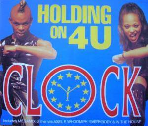 Clock: Holding On 4 U - Cover