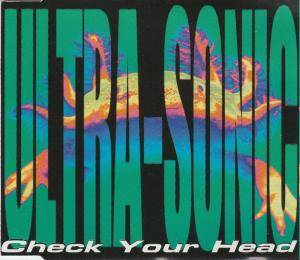 Cover - Ultra-Sonic: Check Your Head