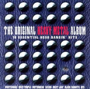 Cover - Various Artists/Sampler: Original Heavy Metal Album - 18 Essential Head Bangin' Hits, The