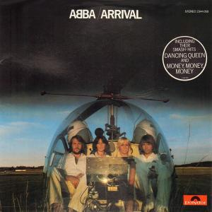 ABBA, Frida: Arrival - Cover