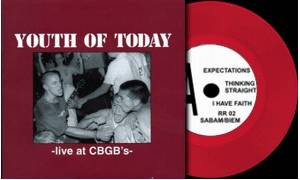 Cover - Youth Of Today: Live At CBGB's