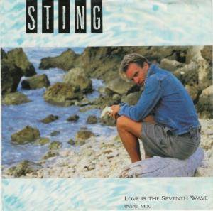 Sting: Love Is The Seventh Wave - Cover