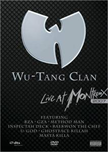 Cover - Wu-Tang Clan: Live At Montreux 2007