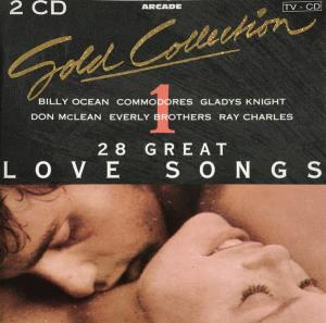 Gold Collection - 28 Great Love Songs - Cover