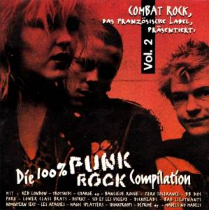 Cover - District: 100% Punk Rock Compilation - Vol. 2, Die