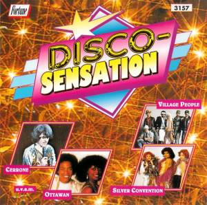 Disco-Sensation - Cover