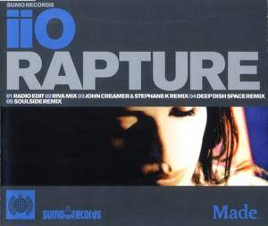 Cover - iiO: Rapture