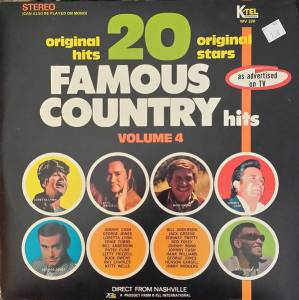 Cover - Henson Cargill: 20 Famous Country Hits Vol. 4