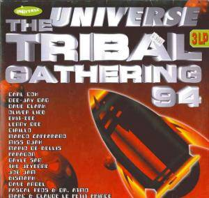 Cover - Marc & Claude Le Petit Prince: Universe Tribal Gathering 94, The