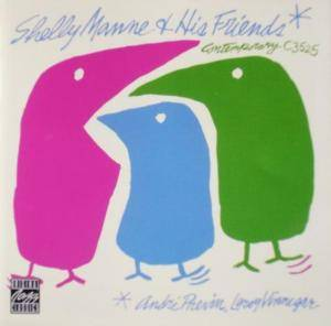 Shelly Manne: Shelly Manne & His Friends - With André Previn, Leroy Vinnegar - Cover