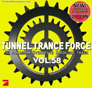 Tunnel Trance Force Vol. 58 - Cover