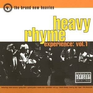 Cover - Brand New Heavies, The: Heavy Rhyme Experience: Vol. 1