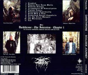 Darkthrone: Soulside Journey (CD) - Bild 2