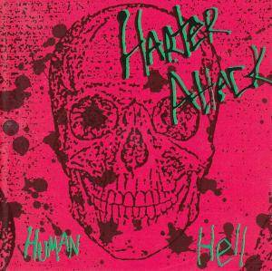 Harter Attack: Human Hell - Cover