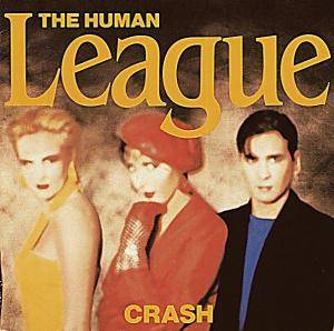 The Human League: Crash - Cover