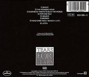 Tears For Fears: Songs From The Big Chair (CD) - Bild 2