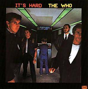 The Who: It's Hard - Cover