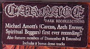 Carnage: Dark Recollections (CD) - Bild 5