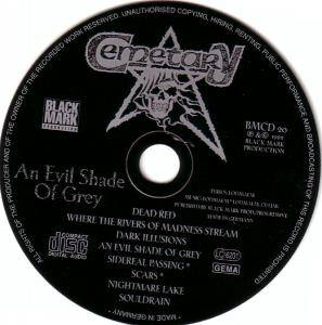 Cemetary: An Evil Shade Of Grey (CD) - Bild 3