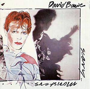 David Bowie: Scary Monsters - Cover