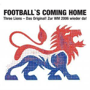 Cover - Baddiel, Skinner & Lightning Seeds: Football's Coming Home - Three Lions 2006