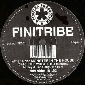 Cover - Finitribe: Monster In The House