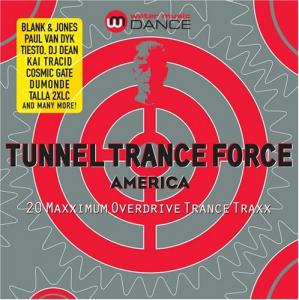 Tunnel Trance Force America - Cover