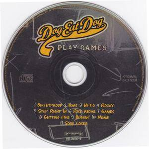 Dog Eat Dog: Play Games (CD) - Bild 3