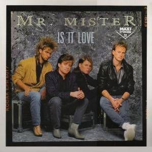 Cover - Mr. Mister: Is It Love