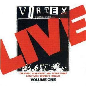 Live At The Vortex - Volume One - Cover