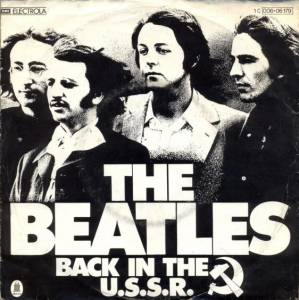 The Beatles: Back In The U.S.S.R. - Cover