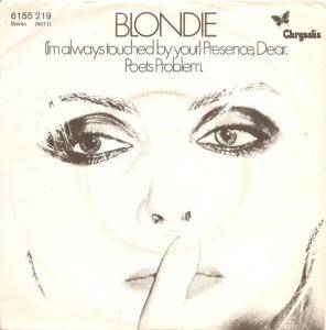 Blondie: I'm Always Touched By Your Presence Dear - Cover