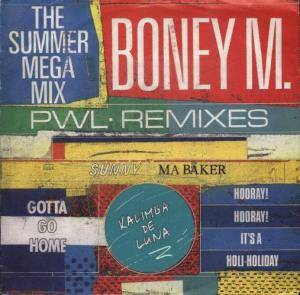 Boney M.: Summer Mega Mix, The - Cover
