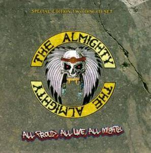 The Almighty: All Proud, All Live, All Mighty - Cover
