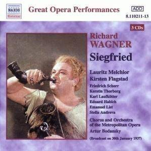 Richard Wagner: Siegfried - Cover