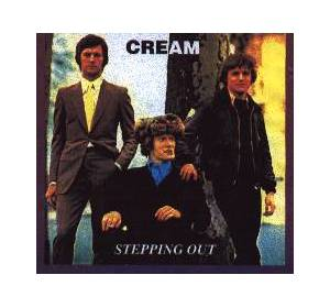 Cream: Stepping Out - Cover